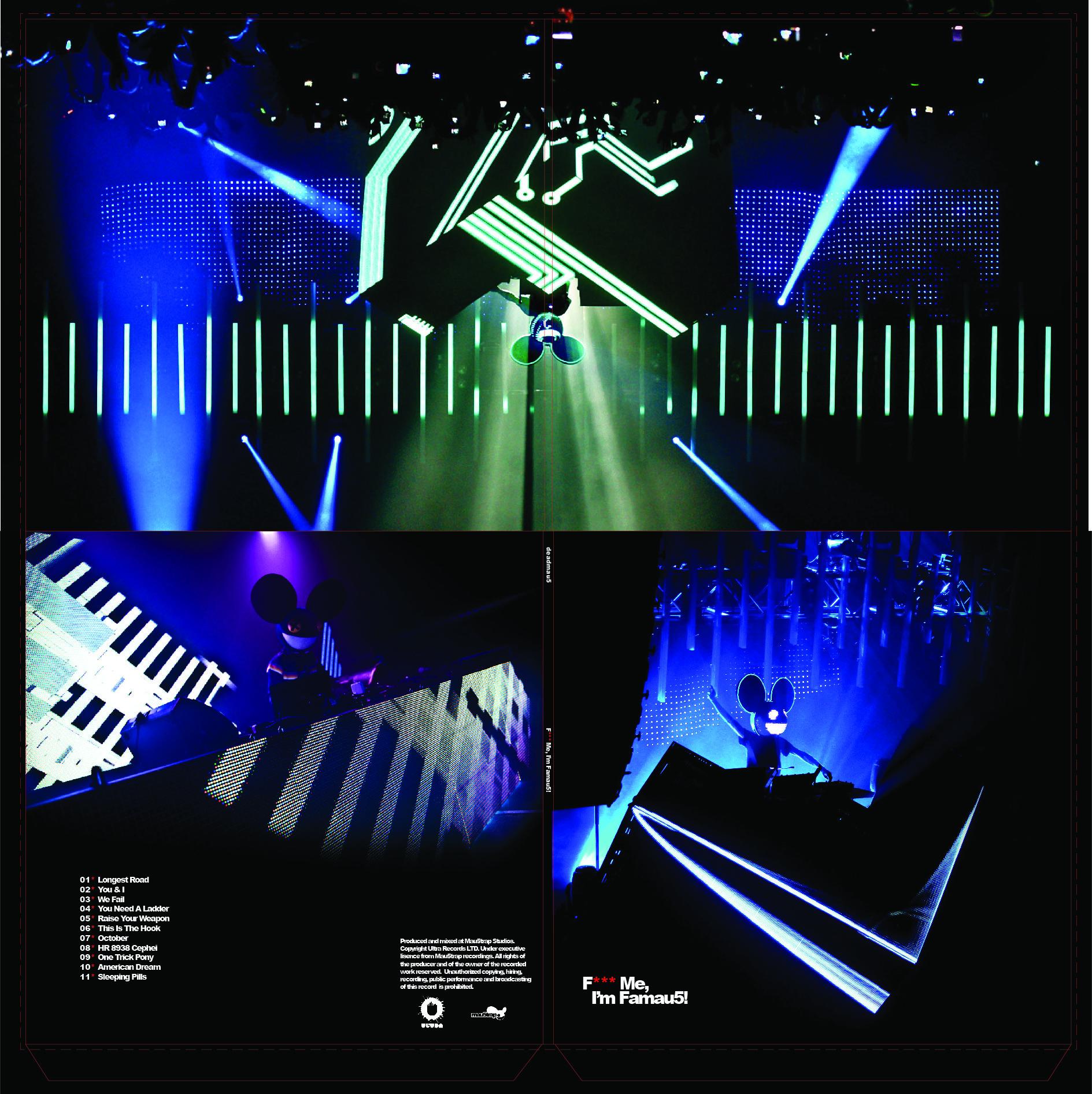 Deadmau5 Vinyl Design - Gatefold Jacket  Cover