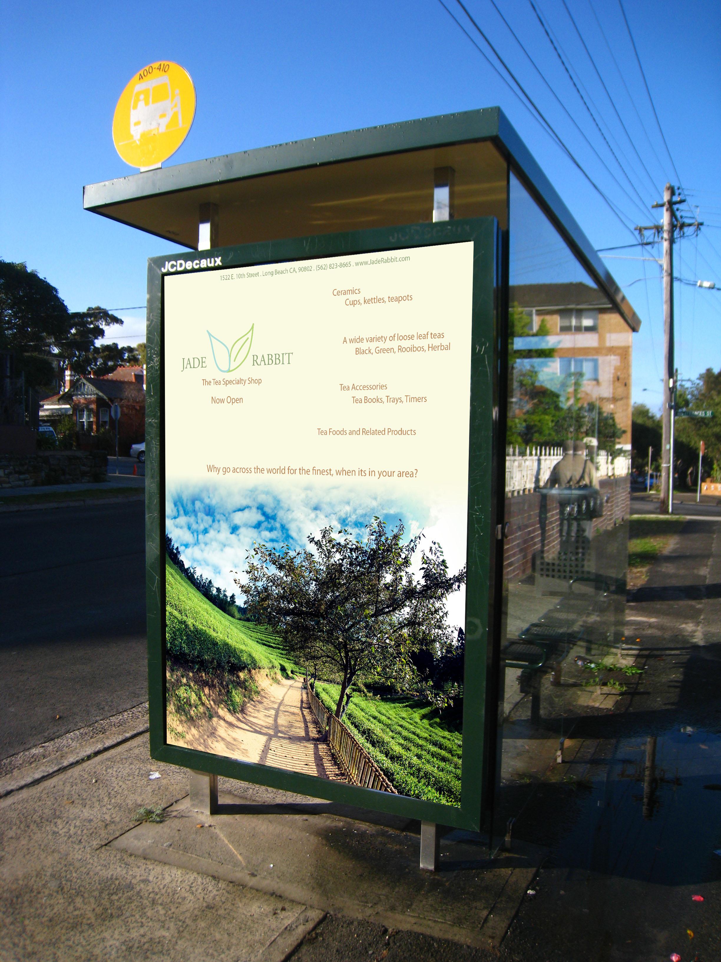 Jade Rabbit - Large Advertising Design