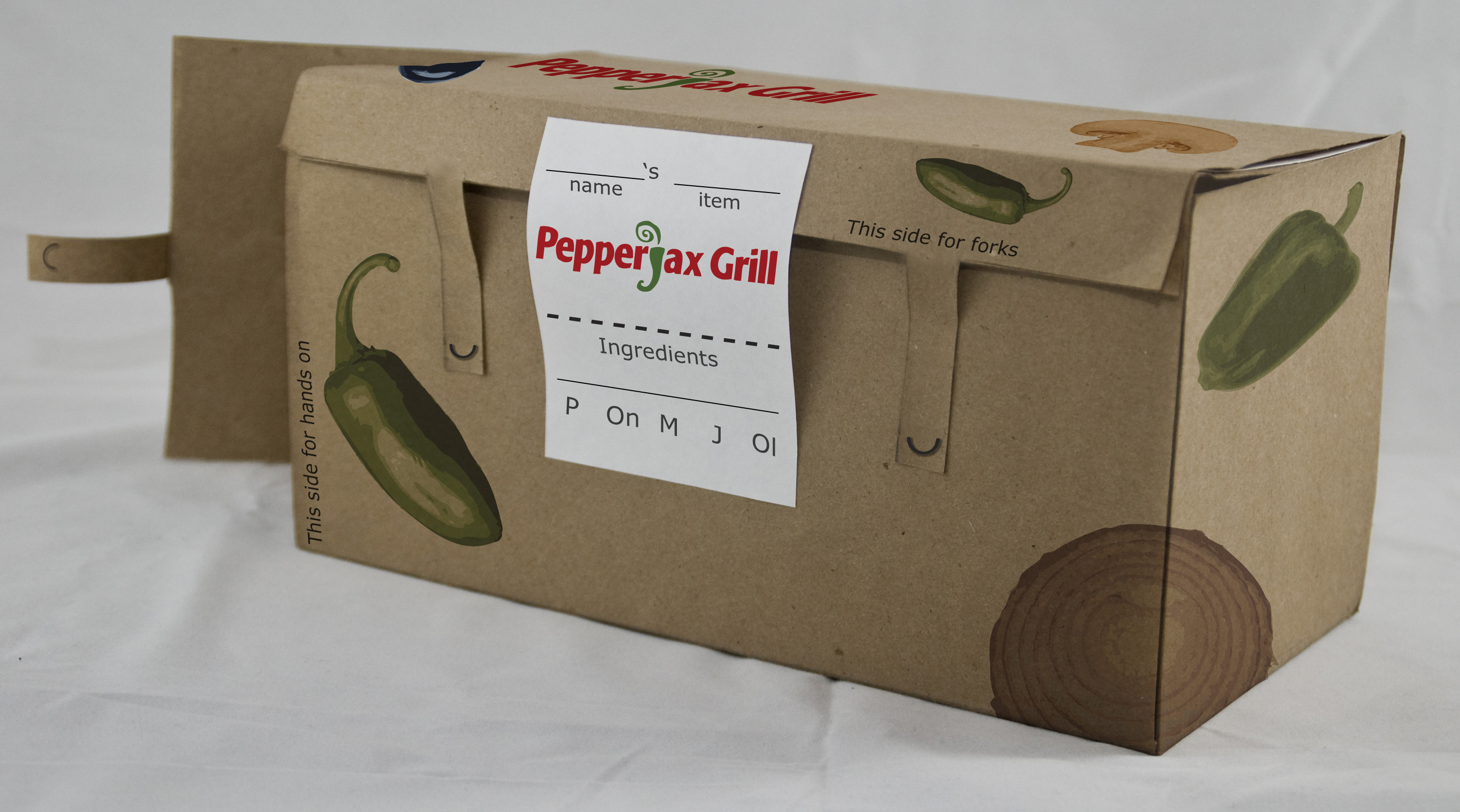 Pepper Jax Grill - Sustainable Package Design